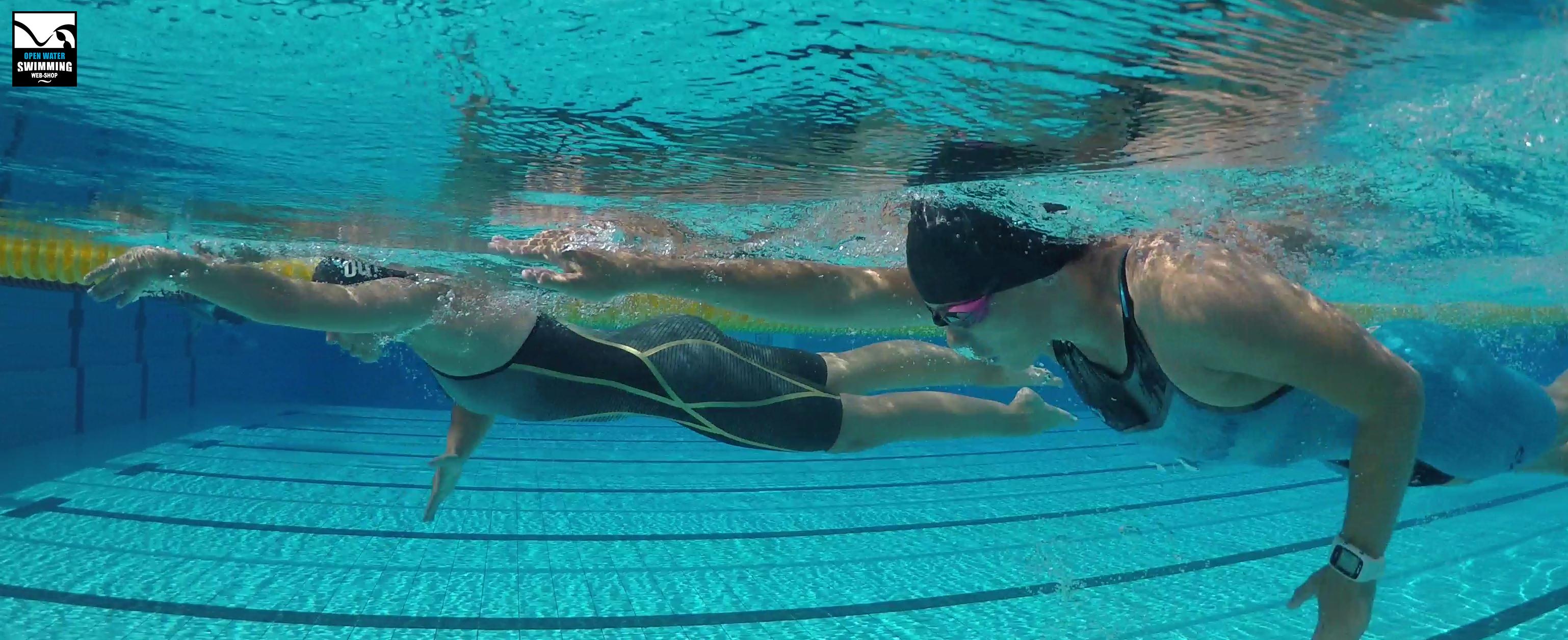 100x100 zwemmen in zwembad